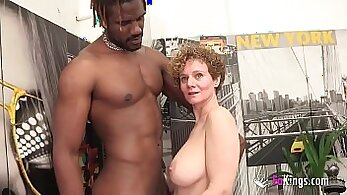 Busty Afro Camgirl Drilled by A BBC