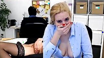 Blonde Secretary Loves Pussy Meeting Private Guy