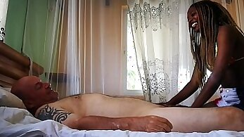 Black massage cum and old man xxx His back door was suddenly snatched