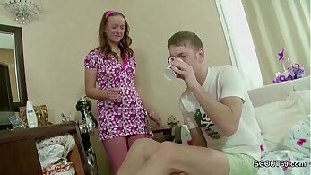 Busty Step Sister Seduces Child Anal