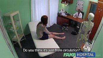 Beautiful Redhead Hoe Jojo Knox explores Creampie