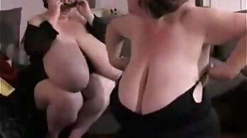 Big boob Belgian babe double tag teamed by strong long dong in mouth