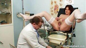 Fake Nurse Hairy pussy pounded