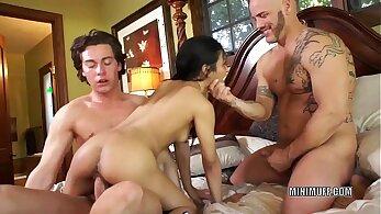 Best pornstar in exotic threesome, asian sex video