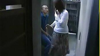 japanese step mom gropones fist