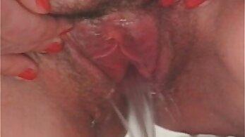 Naughty mature slut gets her creamy pussy fuck