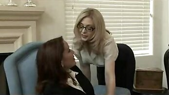 Big Tit Milf Slaves Sandra and Lolly Lesbian Action