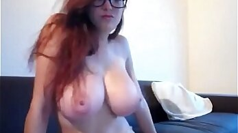 Busty College Girl Showing On Cam