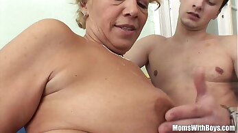 Granny Craves Young Cock