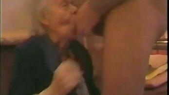 Naughty granny Grandma giving bbc