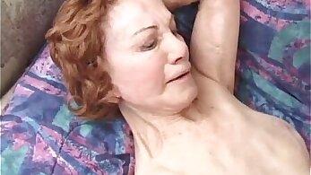 dildo fucking granny Milf ass