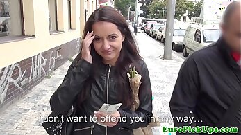 European girls sucking cock to get more money