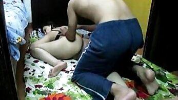 Bukkake couple enjoying an indian wife