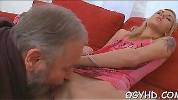 beautys juicy pussy submits to a young stud and arous
