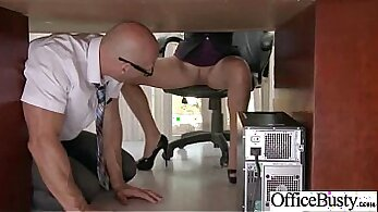 Big boobed TS slut Tiffany Drake having hardcore sex on the couch