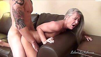 Beautiful tits banged young