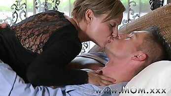 Brunette Mature Fucked On A Screw Cock