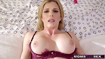 Covering my Hot Step Mom with Cum from Hot Mila