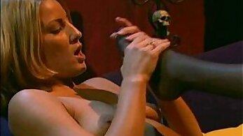 Chubby Jasmine Soniel Pantyhose Secretly Pounding Foot Fetish