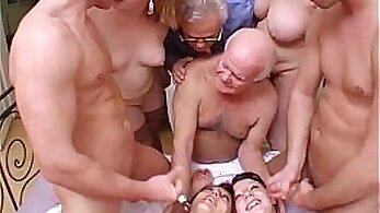 Crazy Group Enormous Orgy in New York Street
