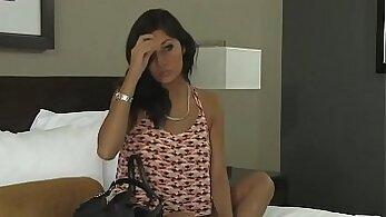 Casting model Lisa Love brought by pimped smuggler for huge tape