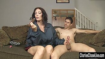 Big Ass MILF Charlee Chase Plays With Step-Daddy